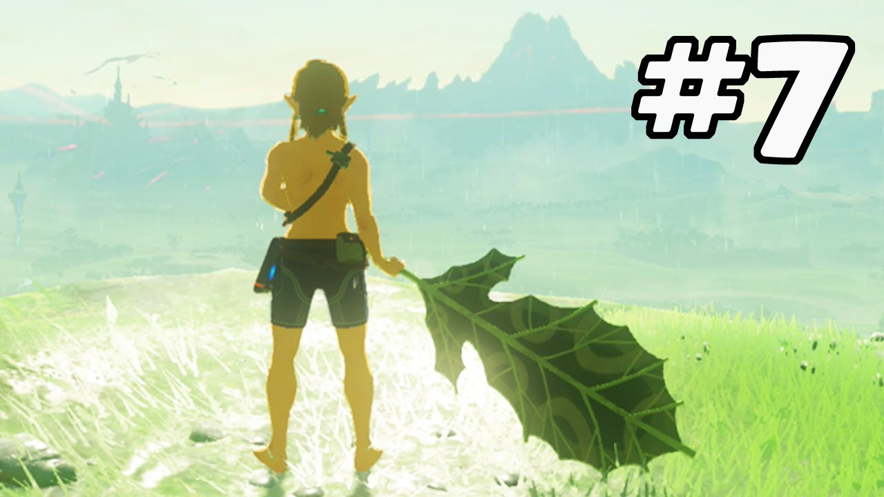 Beating Breath of the Wild with a Single Korok Leaf (Part 7) | PointCrow VOD