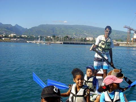 Kayak scolaire à la BNM