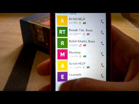 Nokia X: Calling & Messaging Demo on Nokia