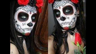 Mexican Skull Make up (Photo TUTORIAL) Thumbnail