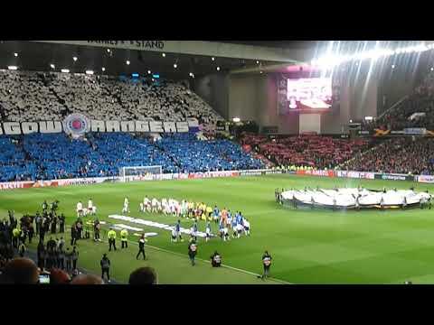 """Rangers vs Spartak Moscow """"Display & Atmosphere"""""""