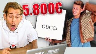 LUCAs 5800€ GUCCI JACKE 🤮