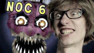 NOC SZÓSTA! CIASTEK ATAKUJE! | Five Nights at Freddy
