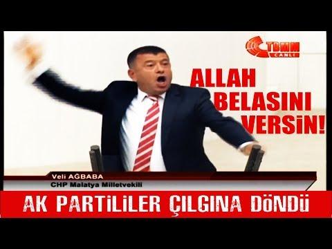 İşte CHPli Veli Ağbaba'nın Tarihe Geçen O Konuşması! Meclis Çılgına Döndü!