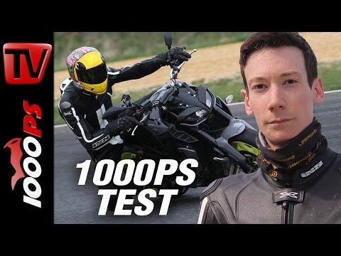 1000PS Test - Yamaha MT-09 im Tracktest