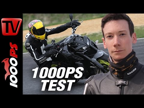 1000PS Test - Yamaha MT-09 im Tracktest - Sound - Review - deutsch