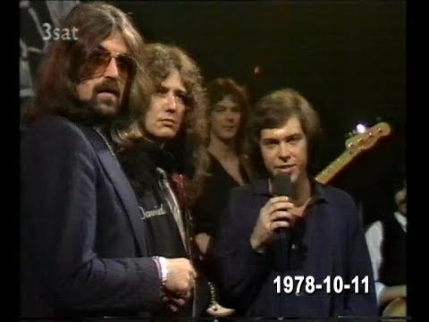 David Coverdale & Jon Lord interview at RockPop TV Show (11/10/1978)