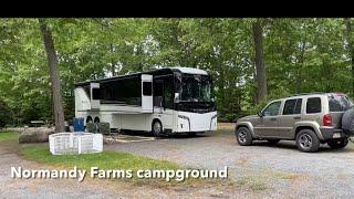 Normandy Farms Campground, Foxboro, Massachusetts
