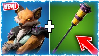 NEW SKIN 'GOUPIL' DISPO ON FORTNITE BATTLE ROYALE!! GO 1K!!