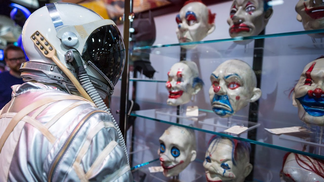 Adam Savage Incognito at Comic-Con 2014: Mercury Spacesuit - YouTube