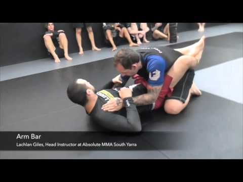 No Gi Pendulum Sweep And Arm Bar From Closed Guard