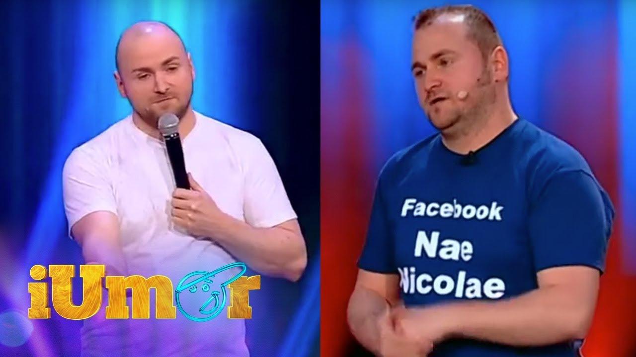 Best of Nae Nicolae, la iUmor. Numărul de stand up comedy care a dominat topurile în trending