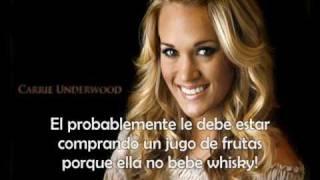 Before he cheats - Carrie Underwood - Español
