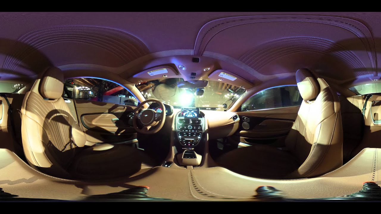 Take a 360 look inside the new Aston Martin DB 11 YouTube