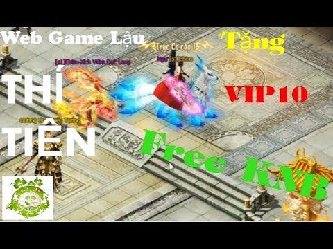 Web Game Private Thí Tiên | Tặng Free KNB | Muốn Bao Nhiêu Có Bấy Nhiêu | Đồ Họa Đẹp Mắt