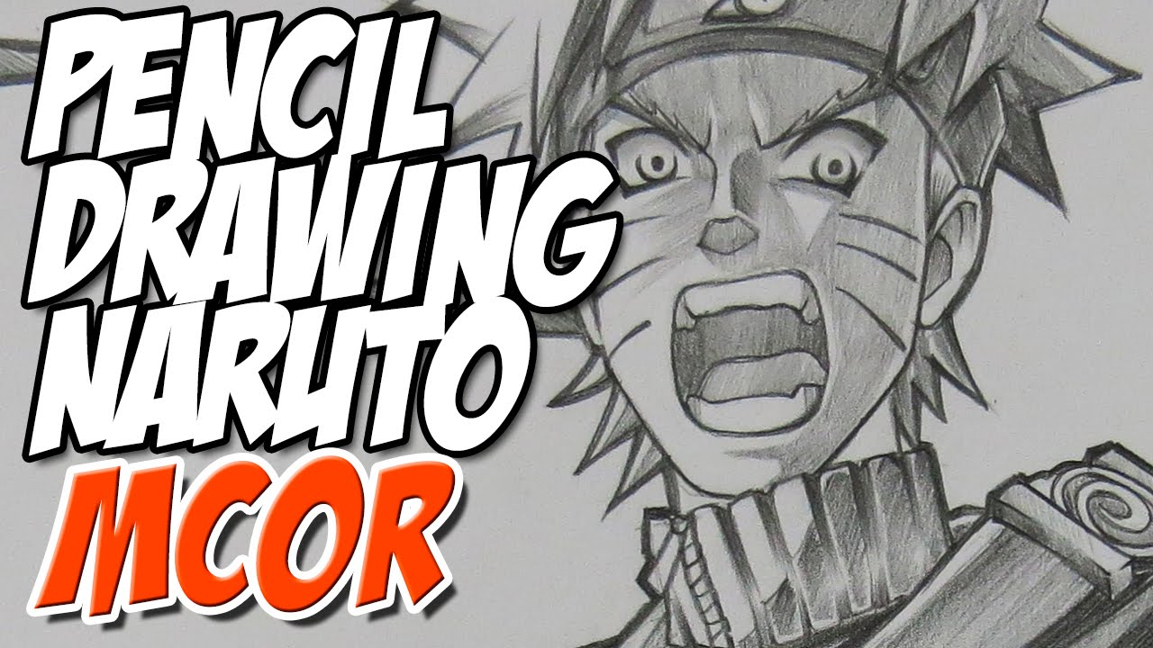 Drawing naruto graphite pencil anime youtube