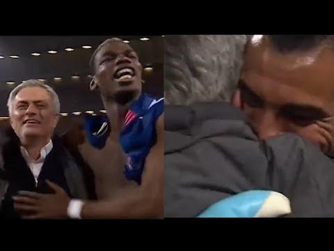 Jose Mourinho's AMAZING CELEBRATIONS With PAUL POGBA & SERGIO ROMERO!