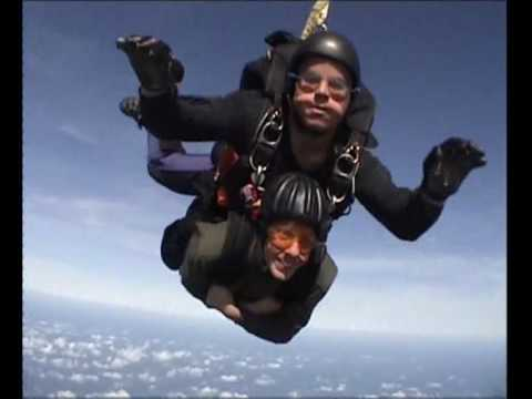 My skydive in Guernsey