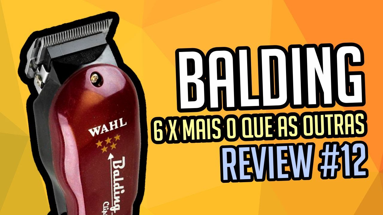 e5c86fb7b Balding Wahl - REVIEW #12 - YouTube