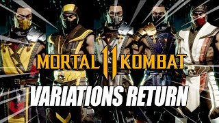 THE RETURN OF VARIATIONS?! Mortal Kombat 11 - Customization Breakdown & Thoughts