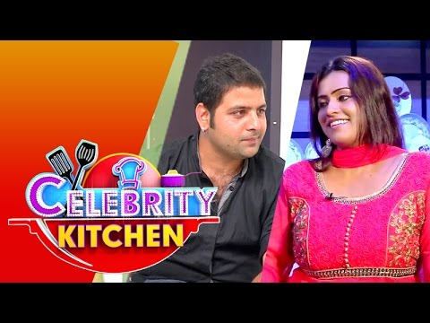 Actors Yogini & Sai Prasanth in Celebrity Kitchen (10/05/2015)