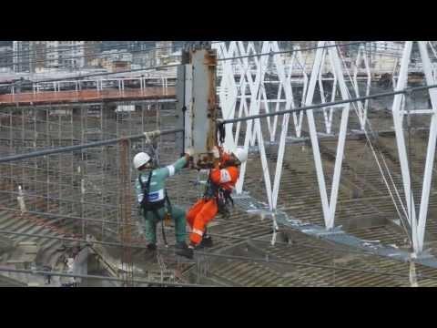 VSL Heavy Lifting: Maracanã Stadium Roof Lift