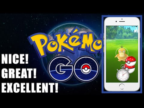 Pokemon Go How To Throw A Nice, Great And Excellent