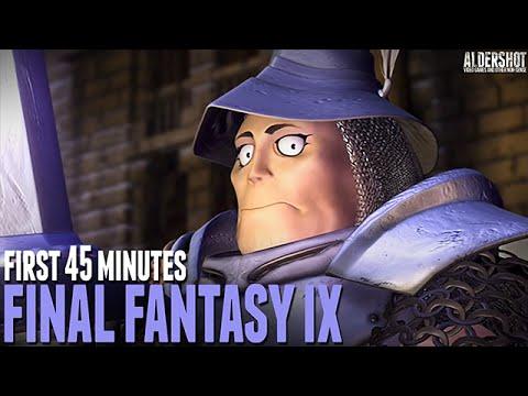 Final Fantasy IX (9): Let's Play / First Look (JRPG, PC / Steam Port, Final Fantasy IX (9) Gameplay)