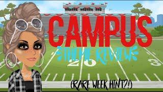 RARE WEEK IS NEAR! Campus Theme Review| MSP 2019| Rich MSP