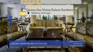 Luxury Madeira Beach Escape | Portugal Holidays | Super Escapes Travel