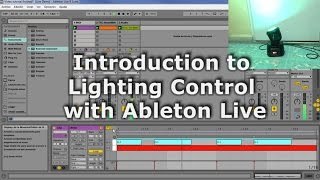 introduction to lighting control with ableton live midi dmx concept