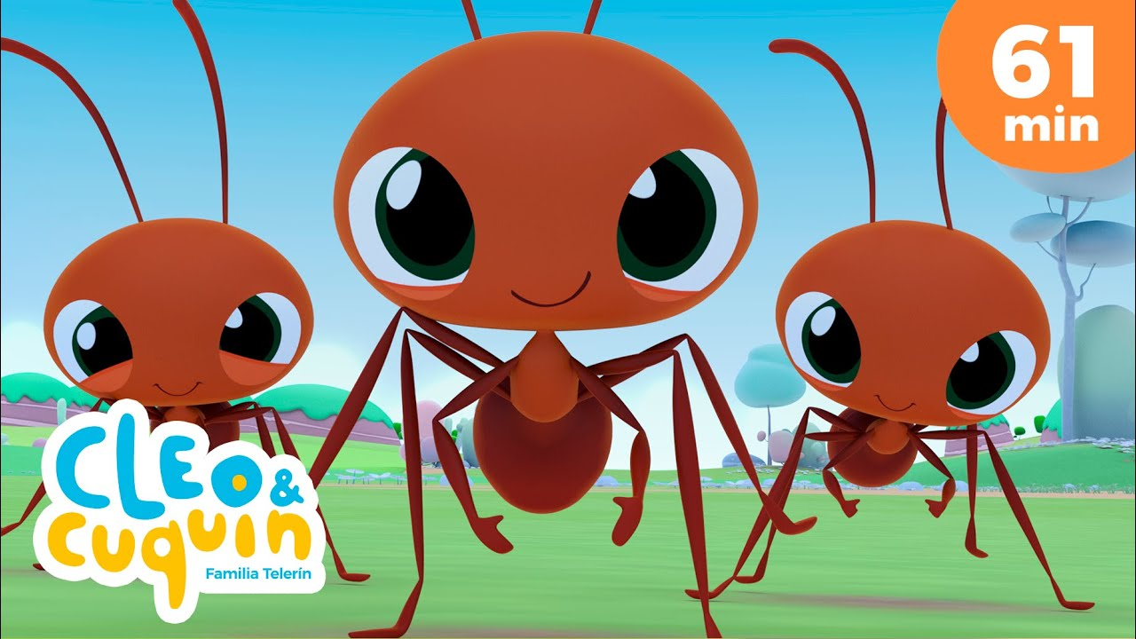Ants Go Marching and more Nursery Rhymes by Cleo and Cuquin | Children Songs