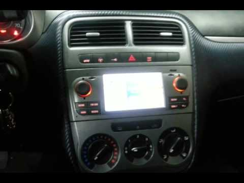autoradio fiat grande punto con navigatore 13 youtube. Black Bedroom Furniture Sets. Home Design Ideas