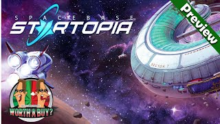 Spacebase Startopia Preview - Manage a Space station for visiting Aliens