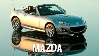 Марка японского автомобиля Mazda и модельный ряд авто.