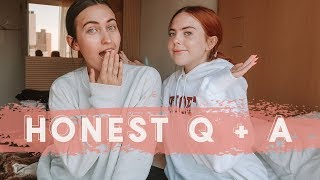 "HONEST ""GIRL TALK"" Q + A  (bikini wax, birth control, period pain)"
