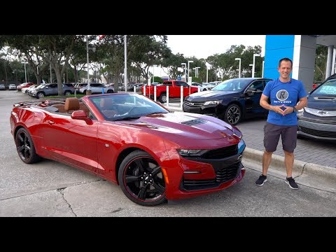 Is the 2019 Chevy Camaro SS the BEST convertible Muscle Car?