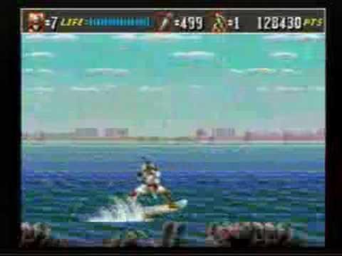 52e16e112457 Shinobi III  Jet Ski (Sega Genesis) - YouTube