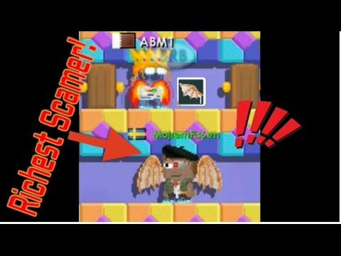 Growtopia: HE SCAMMED DAVINCI WINGS IN A DROP GAME!(200DLs)