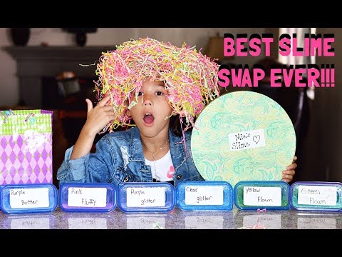 THE BEST SLIME SWAP EVER WITH MIA !!!!! | txunamy