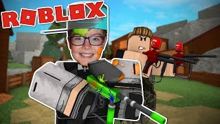 MAD PAINTBALL 2 w/ Duck Duck - Roblox