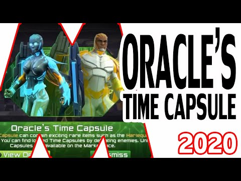 DCUO Oracle's Time Capsule