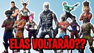 OLD SKINS RETURNING ON THE BIRTHDAY-WILL IT REALLY?? -Fortnite Bataille Royale