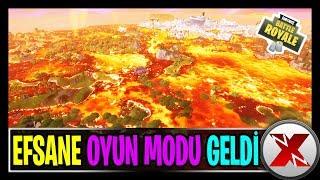 GELMİŞ GEÇMİŞ EN GÜZEL OYUN MODU | YERDEN YÜKSEK (Fortnite Battle Royale Lav Modu Türkçe)