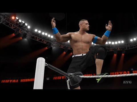 WWE 2K16 - 30-Man Royal Rumble Full Match Gameplay (XboxONE HD) [1080p60FPS]