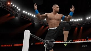 WWE 2K16 - 30-Man Royal Rumble Full Match Gameplay (XboxONE HD) [1080p60FPS]