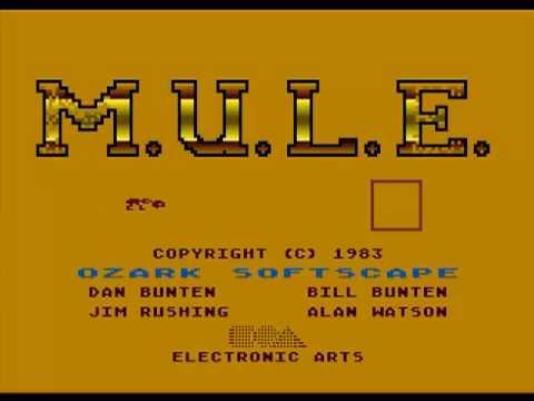 MULE Atari XL