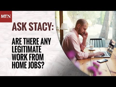 Are There Any Legitimate Work From Home Jobs?