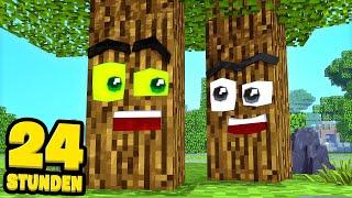 24 STUNDEN ALS BAUM LEBEN! - Minecraft [Deutsch/HD]
