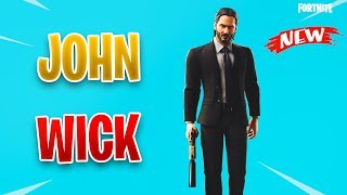 *NEW* Leaked JOHN WICK Skin - Fortnite Season 9 v9.01 Update